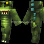 Godzilla — скин Годзиллы для Minecraft (Майнкрафт)