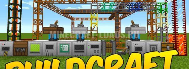 Мод BuildCraft для Minecraft 1.4.7 / 1.5.2 - 1.8.9