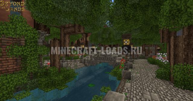 Текстур пак Beyond The Lands [16x] для Minecraft 1.10 / 1.11 / 1.12