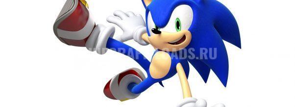 Sonic - Скин Соника для Minecraft