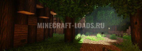 Шейдер Super Shaders для Minecraft 1.7.10 / 1.8.9 - 1.10.2