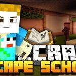 Карта Escape The School для Minecraft 1.7.10