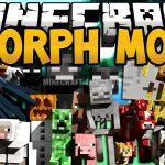 Мод Morph для Minecraft 1.7.10 — 1.12.2