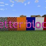 Текстур пак Better blocks для Minecraft 1.10.2