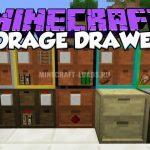 Мод Storage Drawers для Minecraft 1.7.10 — 1.12.2