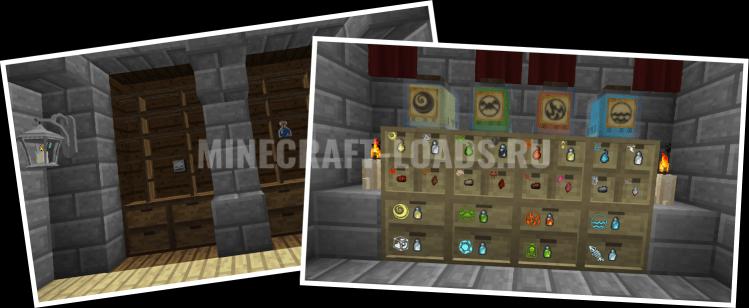 Мод Storage Drawers для Minecraft 1.7.10 - 1.12.2