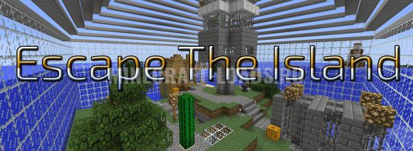Карта Escape The Island для Minecraft 1.12.2