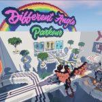 Карта DIFFERENT ANGLES PARKOUR для Minecraft 1.12.2