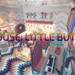 Карта BIG HOUSE: LITTLE BUTTONS для Minecraft 1.12.2