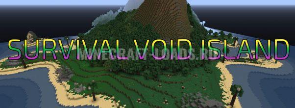 Карта SURVIVAL VOID ISLAND для Minecraft 1.12.2