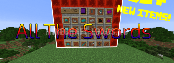 Мод All The Swords для Minecraft 1.12.2