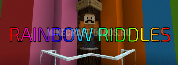 Карта RAINBOW RIDDLES для Minecraft 1.12.2