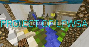Карта PROJECT OF LFWSA для Minecraft 1.12.2