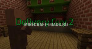 Карта Delivery Guy 2 для Minecraft 1.12.2
