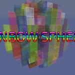 Карта Rainbow Spheres для Minecraft 1.12.2