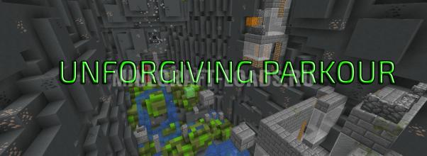 Карта Unforgiving Parkour для Minecraft 1.13