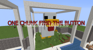 Карта One chunk Find the button для Minecraft 1.13