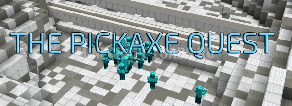 Карта Pickaxe Quest для Minecraft 1.13