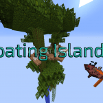Карта Floating Island 2 для Minecraft 1.12.2