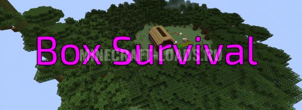 Карта Box Survival для Minecraft 1.12.2