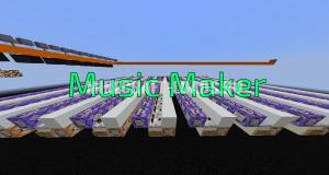 Карта Music Maker для Minecraft 1.12.2