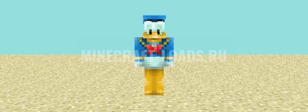 Дональд Дак — скин Minecraft (Майнкрафт)