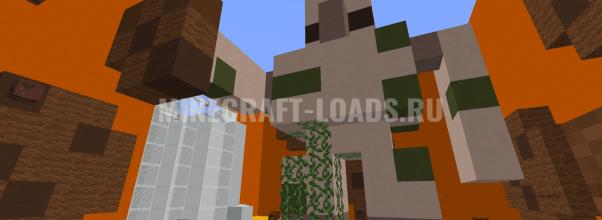 Карта Superfurious Find The Button для Minecraft 1.12.2