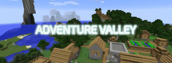Карта Adventure Valley для Minecraft 1.12.2