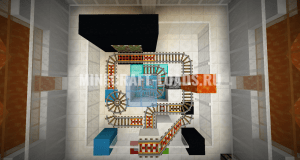 Карта Crystal Cages для Minecraft 1.13.2
