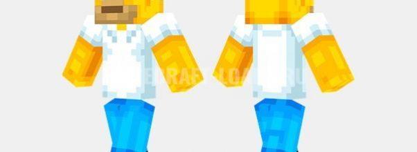 Гомер — скин Minecraft (Майнкрафт)