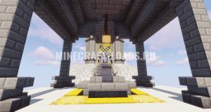 Карта Emperors WAR для Minecraft 1.13.2