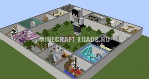 Карта Ring Of Parkour для Minecraft 1.12.2