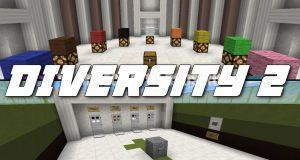 Карта Diversity 2 для Minecraft 1.8.8