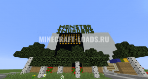 Карта Monster Invaders для Minecraft 1.12.2