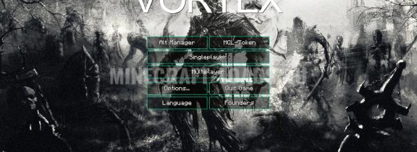 Главное меню чита Vortex