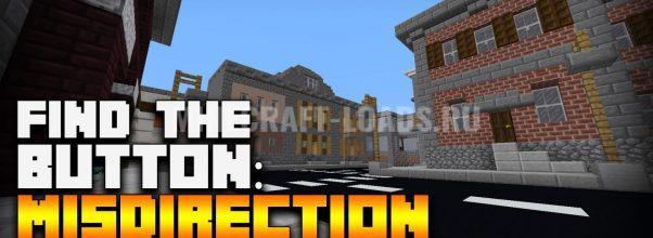 Карта Find The Button Misdirection для Minecraft 1.13.2