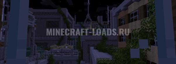 Карта Abandoned City для Minecraft 1.14.3