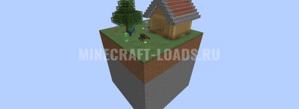 Карта Chunk Defense для Minecraft 1.14.3