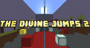 Карта The Divine Jumps 2 для Minecraft 1.13.2