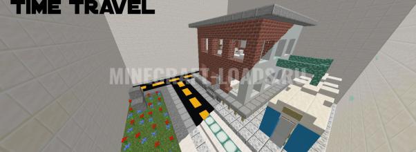 Карта про поиск кнопки для Minecraft 1.14.4
