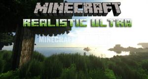 Текстур пак Realistic Ultra HD для Minecraft 1.13