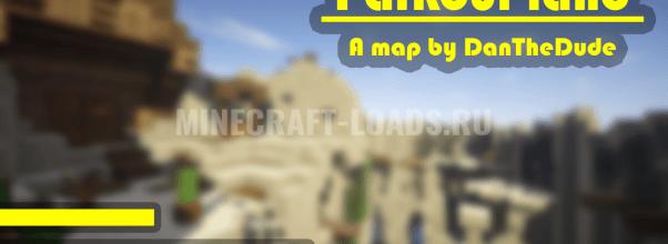 Карта Король земли паркура для Minecraft 1.14.4