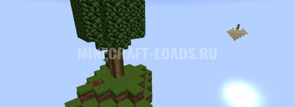 Карта SkyBlock с экономикой для Minecraft 1.14.4