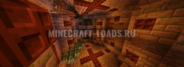Карта Храм Рейна для Minecraft 1.14.4