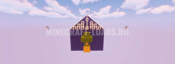 Карта Накорми пирамиду для Minecraft 1.14.4