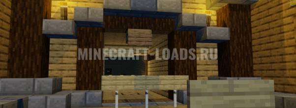 Карта Мастер стрельбы для Minecraft 1.14.4