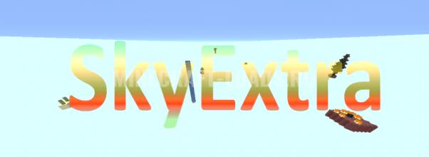 Карта SkyExtra для Minecraft 1.14.4