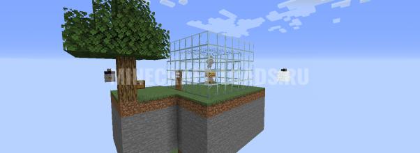 Карта Пчелиные Острова для Minecraft 1.15.1