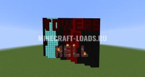 Карта Башни Ада для Minecraft 1.15.1