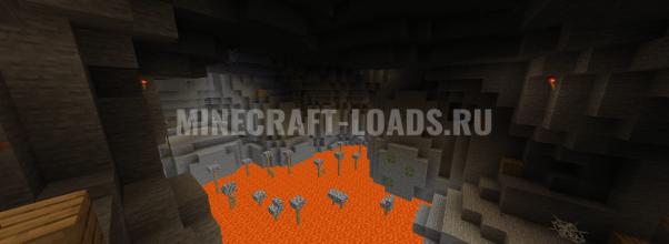 Карта Побед из пещеры для Minecraft 1.14.4
